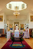 interior stock photography | Alaska, Kodiak, Holy Resurrection Russian Orthodox Church, image id 5-650-3868