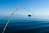 quiet stock photography | Alaska, Kodiak, Fishing pole, image id 5-650-4118