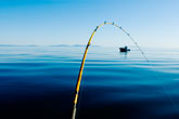 quiet stock photography | Alaska, Kodiak, Fishing pole, image id 5-650-4119