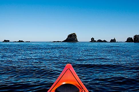 image 5-650-4206 Alaska, Kodiak, Kayaking in Monashka Bay