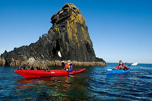 image 5-650-4226 Alaska, Kodiak, Kayaking in Monashka Bay