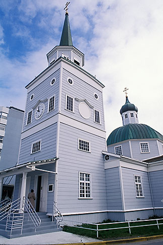 image 7-200-4 Alaska, Sitka, St Michaels Orthodox Cathedral