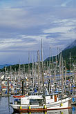 mast stock photography | Alaska, Petersburg, Petersburg Harbor, image id 7-203-7