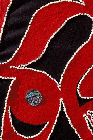 image 7-249-23 Alaska, Ketchikan, Tsimshian design, Metlakatla Island
