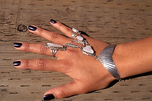 image 7-252-13 Alaska, Ketchikan, Jewelry, Metlakatla Island