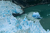 blue stock photography | Alaska, Southeast, North Sawyer Glacier, Tracy Arm, image id 8-342-34
