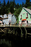 old shops stock photography | Alaska, Ketchikan, Historic section, Old Town, image id 8-379-10