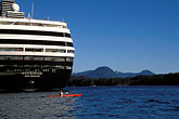 sunlight stock photography | Alaska, Ketchikan, Cruise ship, image id 8-379-23