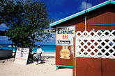 restaurant sign stock photography | Anguilla, Shoal Bay, Uncle Ernie