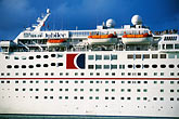 ocean liner stock photography | Antigua, St. John�s, Cruise ship, image id 4-600-2