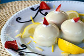 dine stock photography | Food, Delizia al limone, lemon profiteroles with lemon cream and strawberries, image id 4-600-46