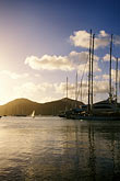 sunset stock photography | Antigua, English Harbor, Boats in Falmouth Harbor, image id 4-601-92
