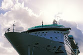 passenger liners stock photography | Antigua, St. John�s, Cruise ship at dock, image id 4-602-58
