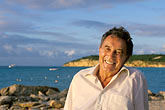 smile stock photography | Antigua, Dickenson Bay, Tony Johnson, Siboney Beach Club, image id 4-602-76