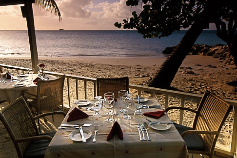 image 4-602-80 Antigua, Dickenson Bay, Coconut Grove Restaurant