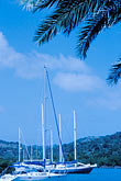 blue stock photography | Antigua, English Harbor, Boats in English Harbor, image id 4-603-63