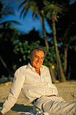 man stock photography | Antigua, Dickenson Bay, Tony Johnson, Siboney Beach Club, image id 4-604-10