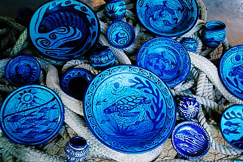 image 4-604-89 Art, Pigeon Point Pottery, Ceramics by Nancy Nicholson