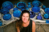 portrait stock photography | Antigua, Pigeon Point Pottery, Ceramics by Nancy Nicholson, image id 4-604-99