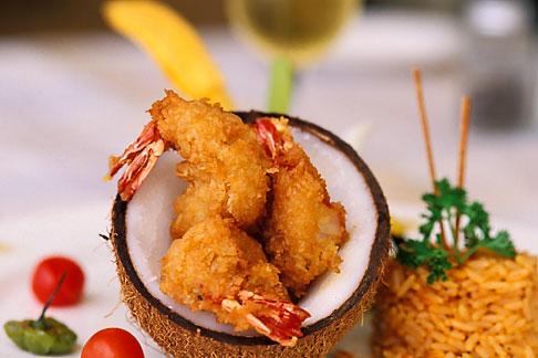 image 4-605-14 Food, Coconut Shrimp