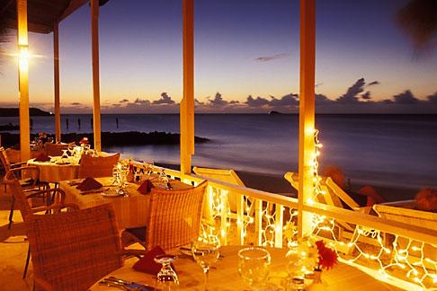 image 4-605-23 Antigua, Dickenson Bay, Coconut Grove Restaurant