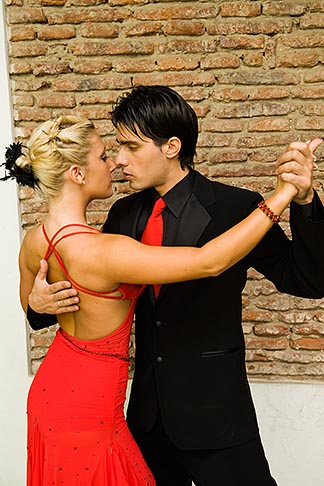 image 8-801-5508 Argentina, Buenos Aires, Tango dancers