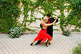 colour stock photography | Argentina, Buenos Aires, Tango dancers, image id 8-801-5546