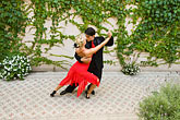 colour stock photography | Argentina, Buenos Aires, Tango dancers, image id 8-801-5547