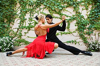 8-801-5598  stock photo of Argentina, Buenos Aires, Tango dancers