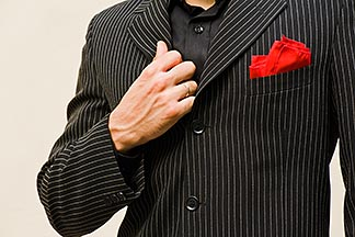 8-801-5811  stock photo of Argentina, Buenos Aires, Tango dancer, closeup, hands and torso