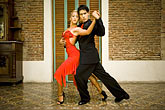 color stock photography | Argentina, Buenos Aires, Tango dancers, image id S8-451-10500