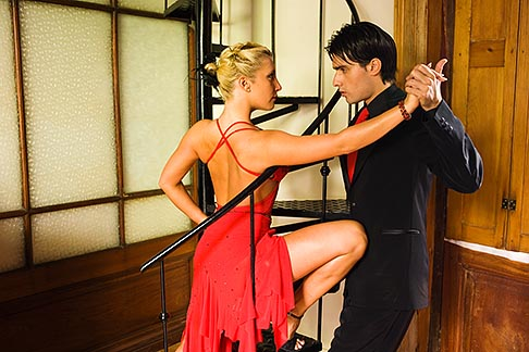 image S8-451-10589 Argentina, Buenos Aires, Tango dancers