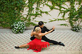 colour stock photography | Argentina, Buenos Aires, Tango dancers, image id S8-451-10710