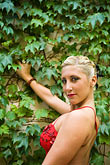 color stock photography | Argentina, Buenos Aires, Tango dancer, solo portrait, young woman, image id S8-451-10761