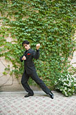 color stock photography | Argentina, Buenos Aires, Tango dancer, solo portrait, young man, image id S8-451-10819