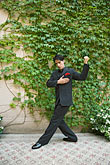 color stock photography | Argentina, Buenos Aires, Tango dancer, solo portrait, young man, image id S8-451-10823