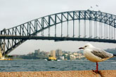 roadway stock photography | Australia, Sydney, Sydney Harbor Bridge, image id 5-600-1398