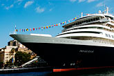 anchorage stock photography | Australia, Sydney, Circular Quay, Cruise ship, image id 5-600-1441