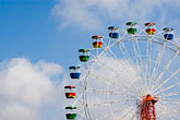 blue sky stock photography | Australia, Sydney, Ferris Wheel, image id 5-600-1452