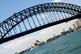 roadway stock photography | Australia, Sydney, Sydney Harbour Bridge, image id 5-600-1481