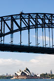 blue sky stock photography | Australia, Sydney, Sydney Harbour Bridge, image id 5-600-1482