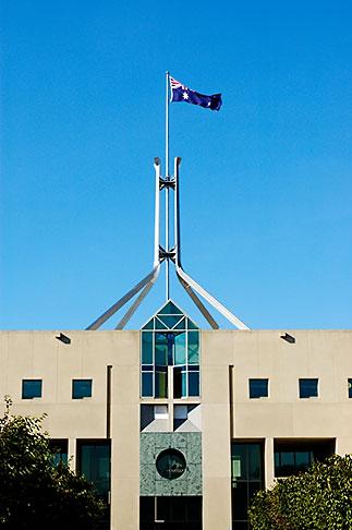 image 5-600-1698 Australia, Canberra, Parliament House