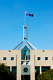 flag stock photography | Australia, Canberra, Parliament House, image id 5-600-1698