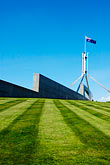 city wall stock photography | Australia, Canberra, Parliament House, image id 5-600-1702