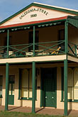 porch stock photography | Australia, New South Wales, Caledonia Hotel, image id 5-600-1715