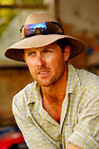 head covering stock photography | Australia, New South Wales, Farmer, image id 5-600-1775