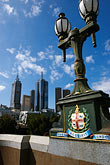 downtown stock photography | Australia, Melbourne, Lamp, image id 5-600-2071