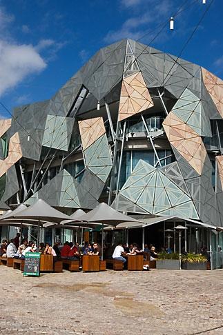 image 5-600-2100 Australia, Melbourne, Federationsquare
