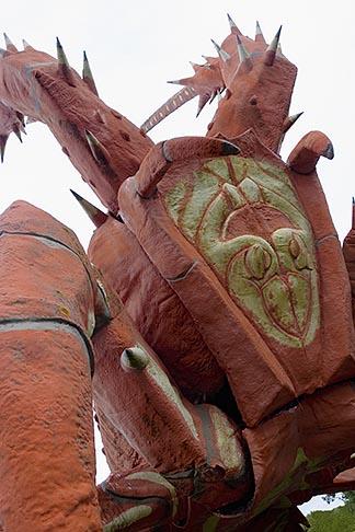 image 5-600-2338 Australia, South Australia, Kingston South East , Giant Lobster restaurant
