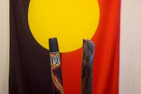 image 5-600-2655 Australian Art, Aboriginal Flag